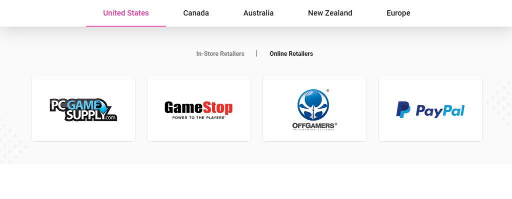 Karma Koin online stores