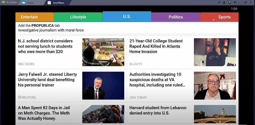 SmartNews for Windows 10