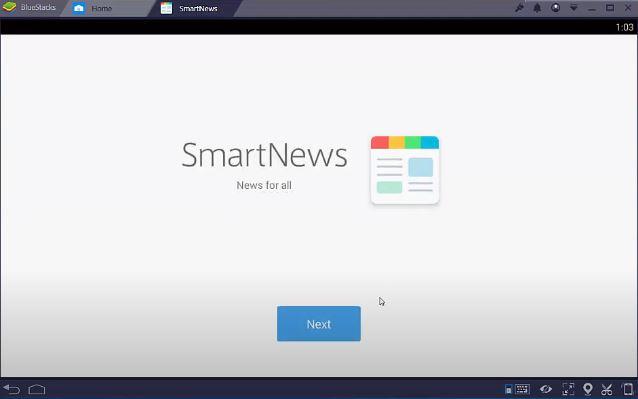 Smartnews app installation