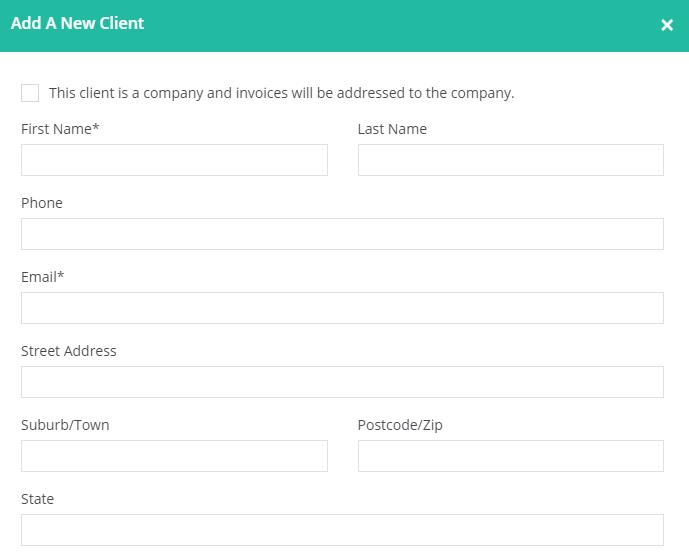 Add client details