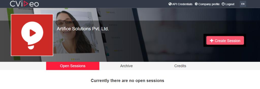 CVideo create session