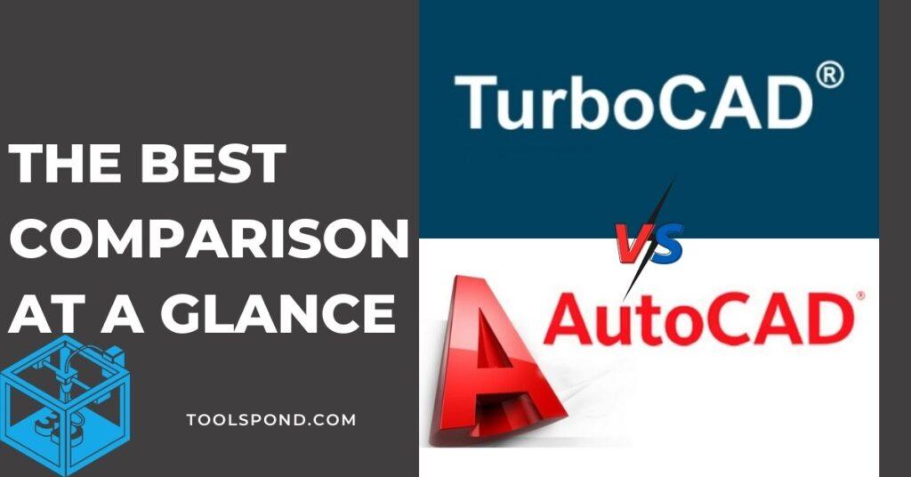TurboCAD vs AutoCad