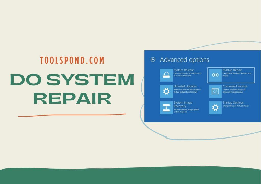 Do System Repair