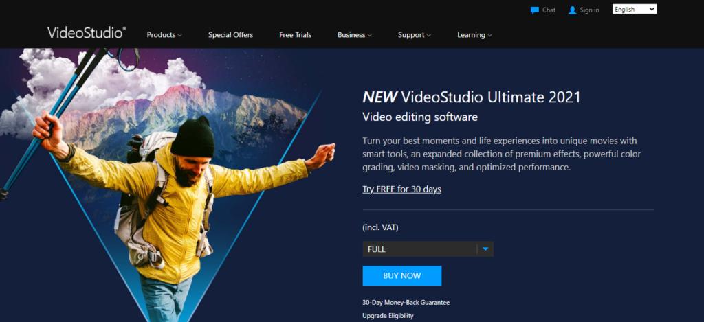 Corel VideoStudio Ultimate X10 buy