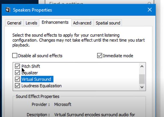 disabling sound effect