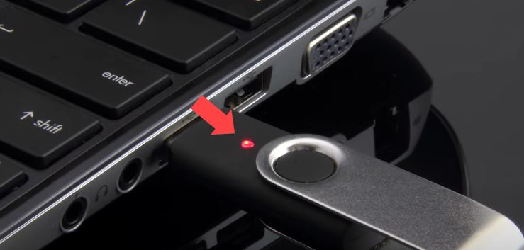 Ejecting Pen Drive