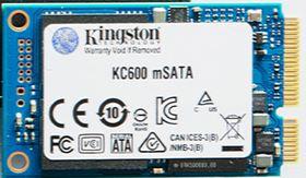 Kingston KC600 mSATA SSD