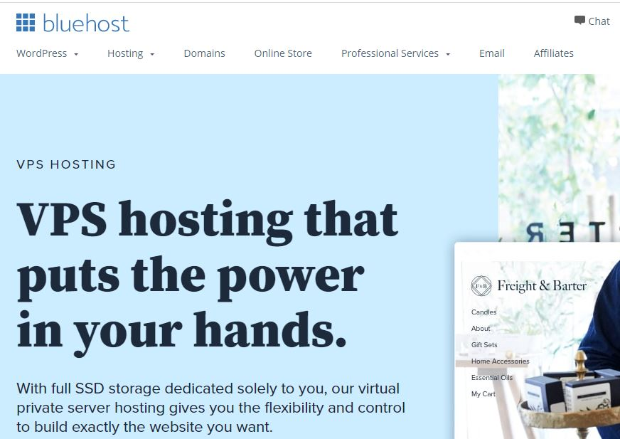 bluehost vps