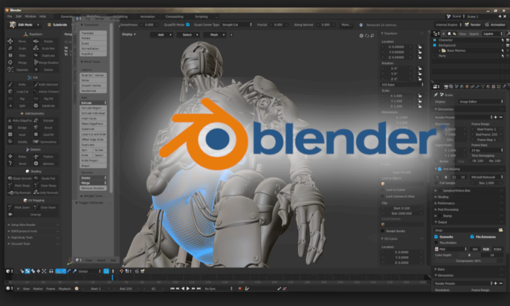 A Quick Introduction to Blender
