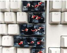 Etsy Custom keycaps
