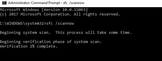 cmd sfc scan
